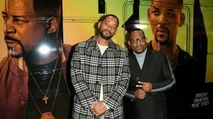 "Will Smith (L) and Martin Lawrence attend the Hollywood premiere of ""Bad Boys For Life"" on January 14, 2020"