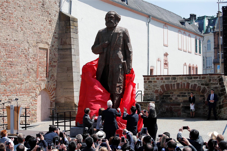 Открытие памятника Карлу Марксу в Трире, 5 мая 2018 г.