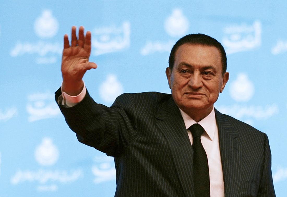 Hosni Moubarak, ancien président égyptien