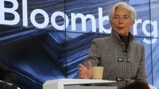 Christine Lagarde, Shugabar hukumar bada lamuni ta duniya IMF