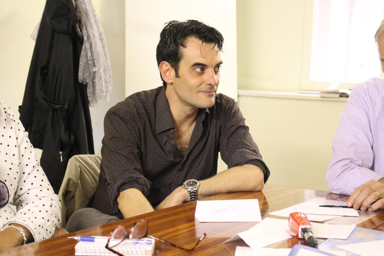 O sírio Samer encontrou na L'ARC uma chance de reconstruir o futuro