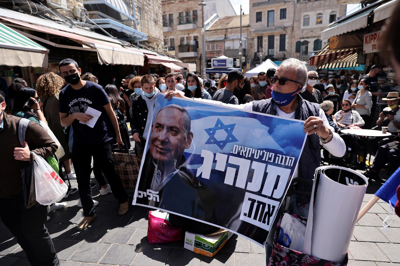 Supporter Netanyahu