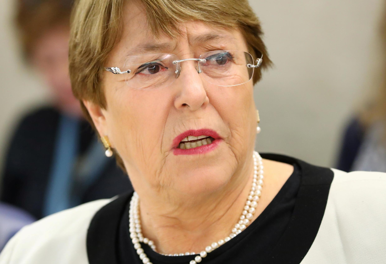 A alta comissária dos Direitos Humanos da ONU, Michelle Bachelet, chega nesta quarta-feira (19) em Caracas.