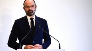 Le Premier ministre français Edouard Philippe.