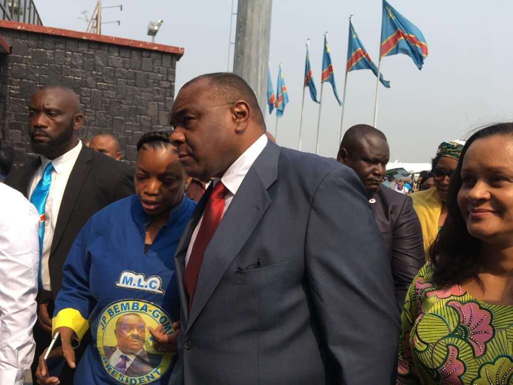 Hatua ya kwanza ya Jean-Pierre Bemba nchini DRC baada ya miaka 11 kutokuwepo, Agosti 1, 2018 (picha ya kumbukumbu)