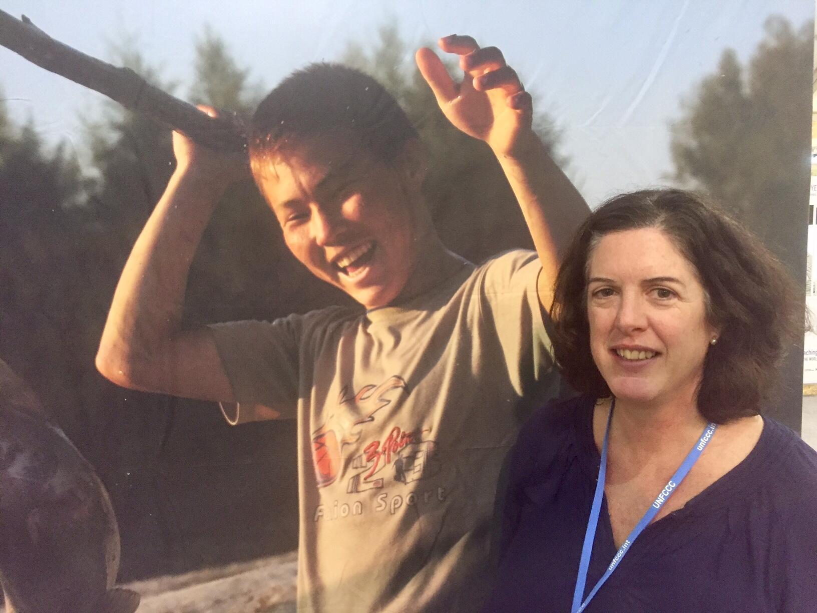 La chercheuse anglaise Krystyna Swiderska estime que les populations autochtones sont les plus affectées par le réchauffement climatique.