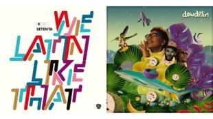 Les albums de Setenta «We Latin Like That» et de Dowdelin «Odyssey».