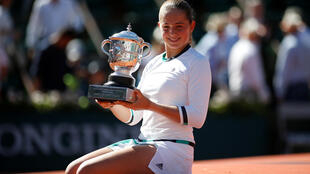 Jelena Ostapenko won the French Open singles title on only her second appearance in the main draw at Roland Garros.