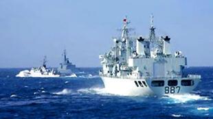 Tàu hải giám của Trung Quốc trên Biển Đông (DR)