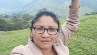 Cristina Bautista, gobernadora indígena, fue una de las cinco víctimas del ataque en Tacueyó, Colombia.