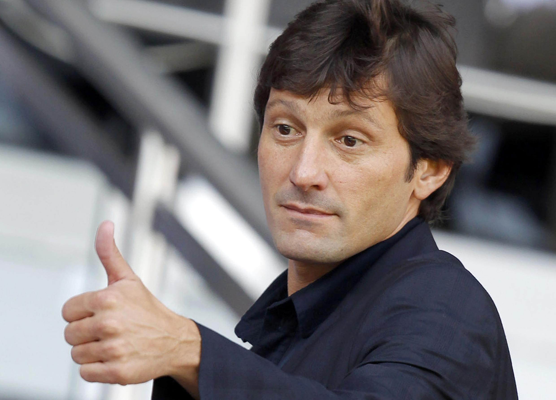 Leonardo, o diretor técnico do Paris Saint-German.