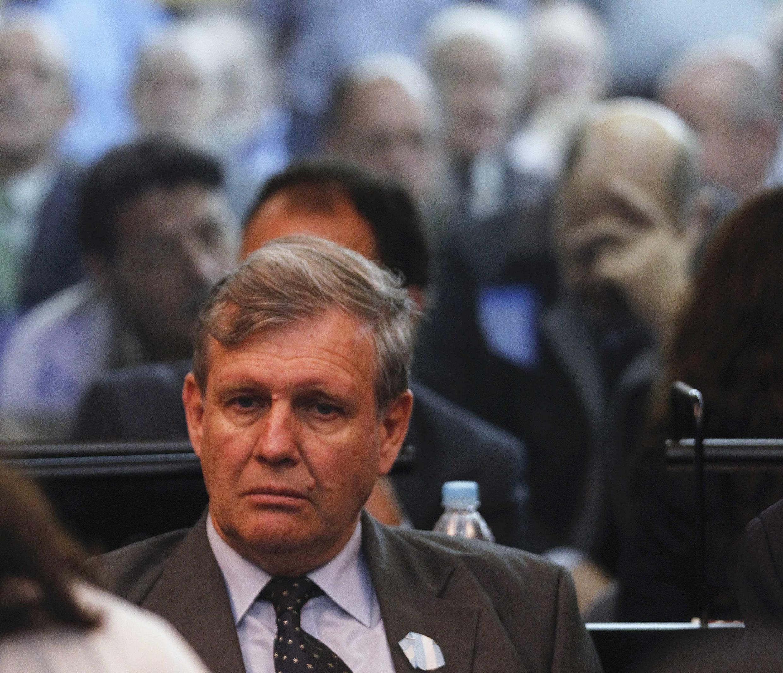 O ex-oficial da marinha Alfredo Astiz é um dos réus do grande julgamento que começou nesta quarta-feira em Buenos Aires.
