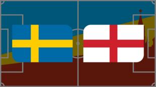 Coupe du monde 2018: vivez Suède-Angleterre en direct