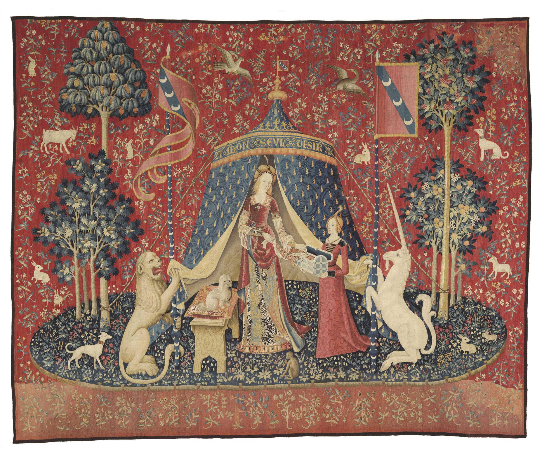 Tenture de La Dame à la licorne : « Mon seul désir », vers 1500, Paris, musée de Cluny - musée national du Moyen Âge
