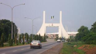 Kofar shiga garin Abuja Najeriya