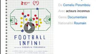 L'affiche du film «Football infini» de Corneliu Porumboiu (capture d'écran).