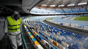 Les spectateurs ne sont pas autorisés à revenir dans les stades avant début 2021. (photo d'illustration)