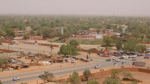 Niamey, capitale du Niger.