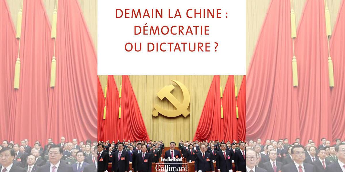 «Demain la Chine : Démocratie ou dictature ?», trang bìa cuốn sách mới của nhà Trung Quốc học Jean-Pierre Cabestan.