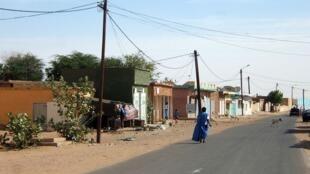 Une rue à Kiffa, en Mauritanie (image d'illustration).