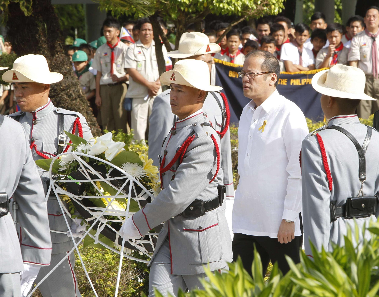 Tổng thống Philippines Aquino nhân ngày lễ các ''Anh hùng '', ngày 27/08/2012