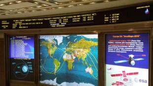 Центр управления полётами «Роскосмоса»