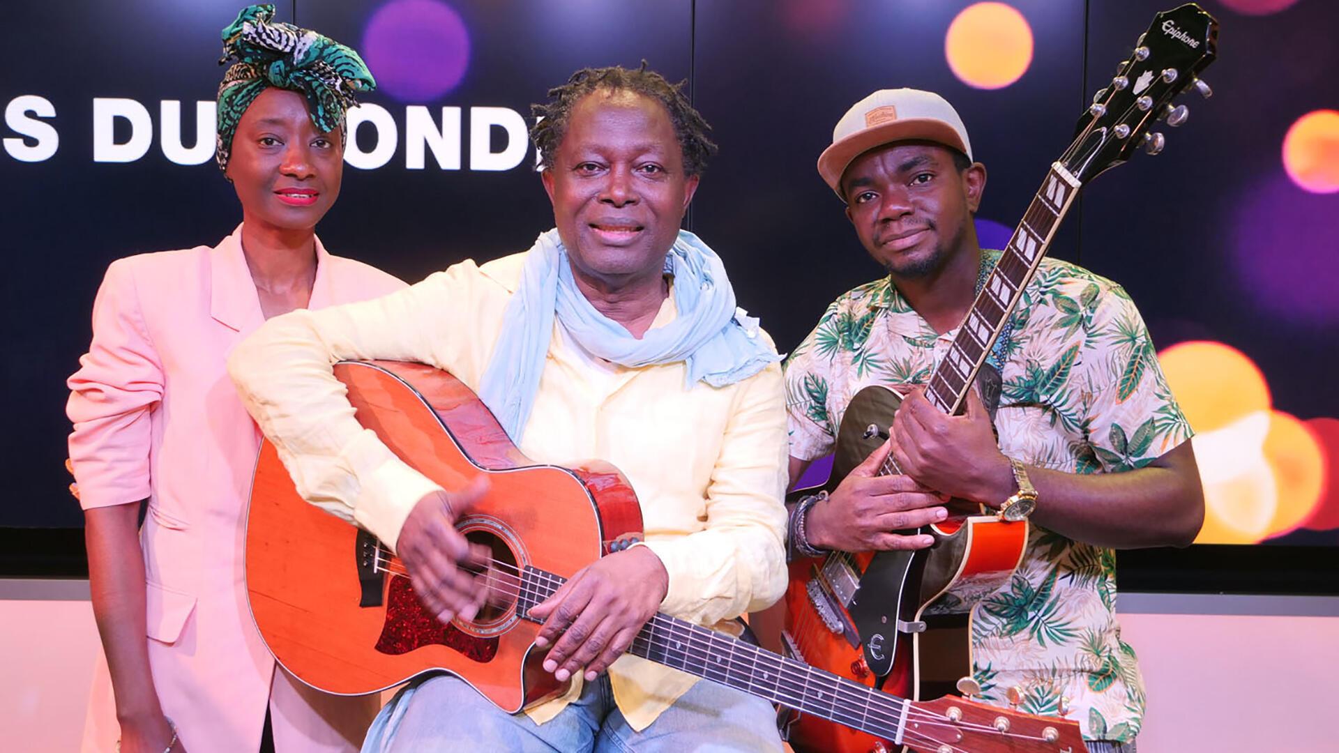 Musique - Lokua Kanza - Roselyne Belinga - Evens Mabanza - Musiques du monde