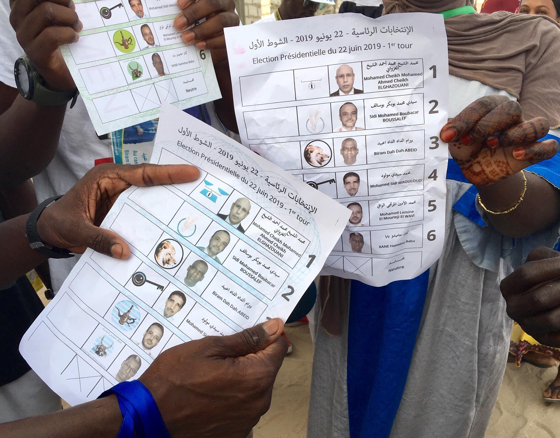 Takardun zaben kasar Mauritania