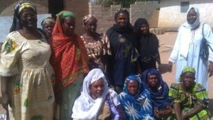 Une vue des femmes du groupement Askana.