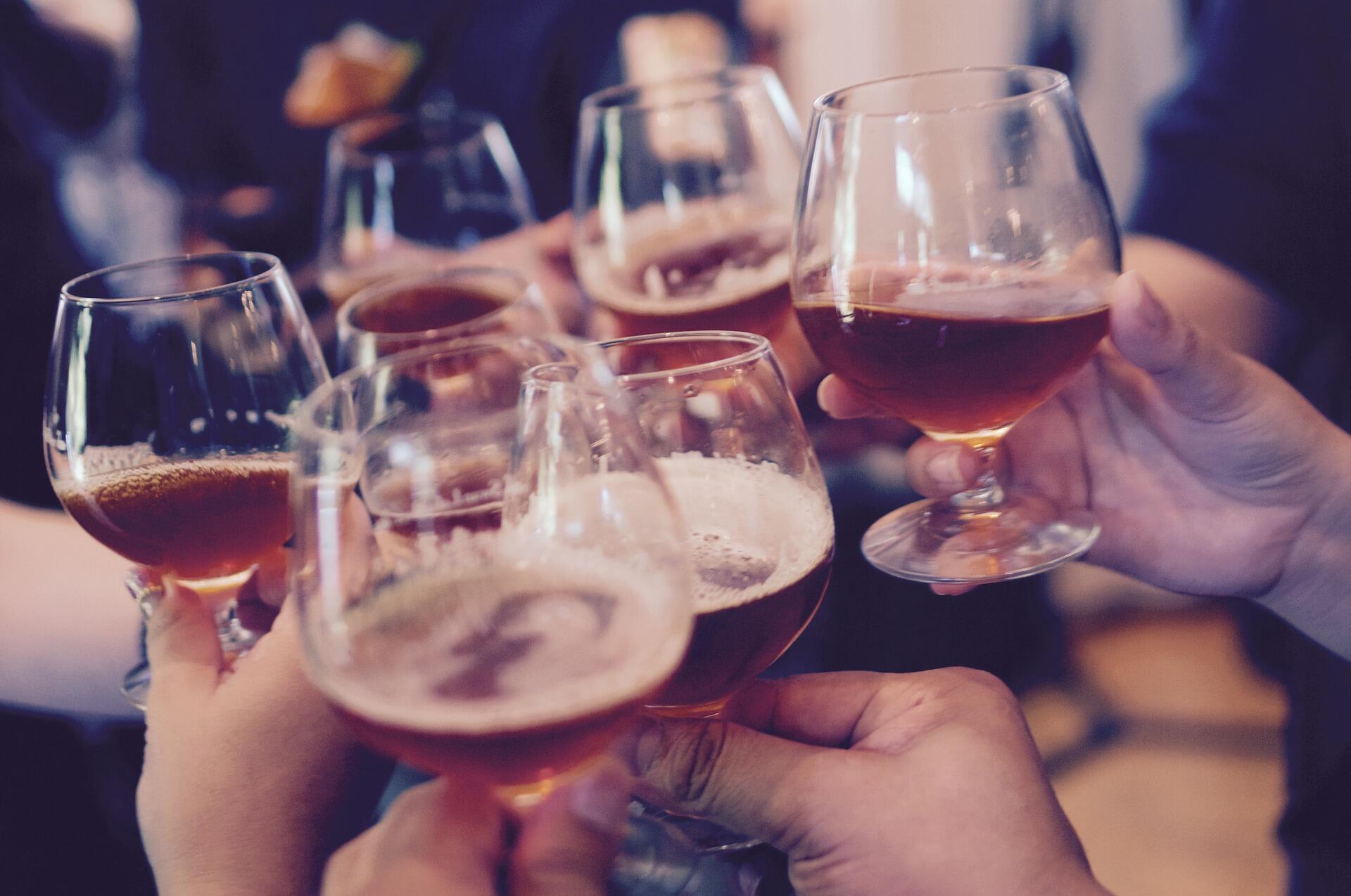 L'alcool est étroitement associé à la fête