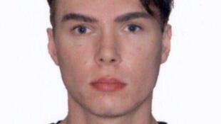 Foto do esquartejador canadense Luka Rocco Magnotta, divulgada pela Interpol.