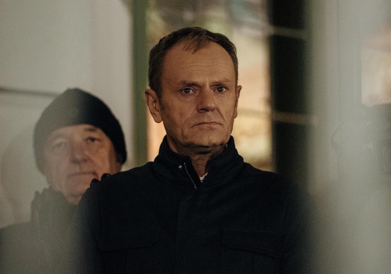 Дональд Туск на акции памяти убитого мэра Гданьска Павла Адамовича. 14 января 2019 г.