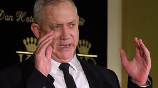 """Israeli Defence Minister Benny Gantz (pictured May 2021) was to meet his US counterpart Lloyd Austin, Secretary of State Antony Blinken and National Security Advisor Jake Sullivan """"for strategic dialogue on the emerging nuclear agreement with Iran"""""""