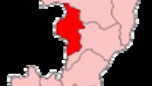 La région Cuvette-Ouest, département du Congo depuis 1995.