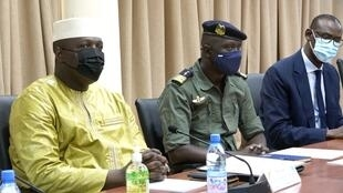 Rencontre 1er conseil de cabinet mali