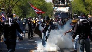 Manifestações na Tailândia contra o governo deixam quatro mortos