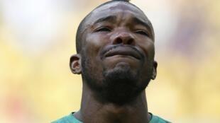 Les larmes de l'Ivoirien Geoffroy Serey Dié ont fait le tour du monde.