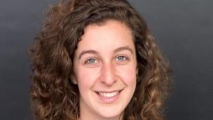 A pesquisadora da ONG Survival Internacional, Sarah Shenker.
