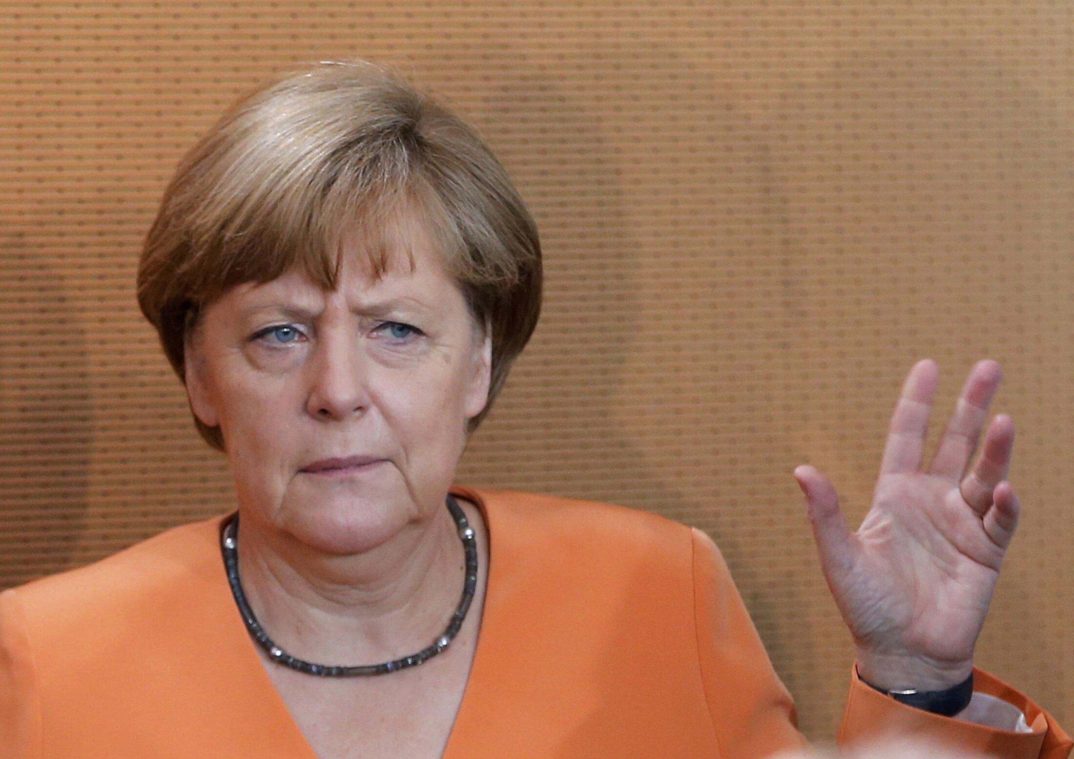 آنگلا مرکل صدر اعظم آلمان فدرال