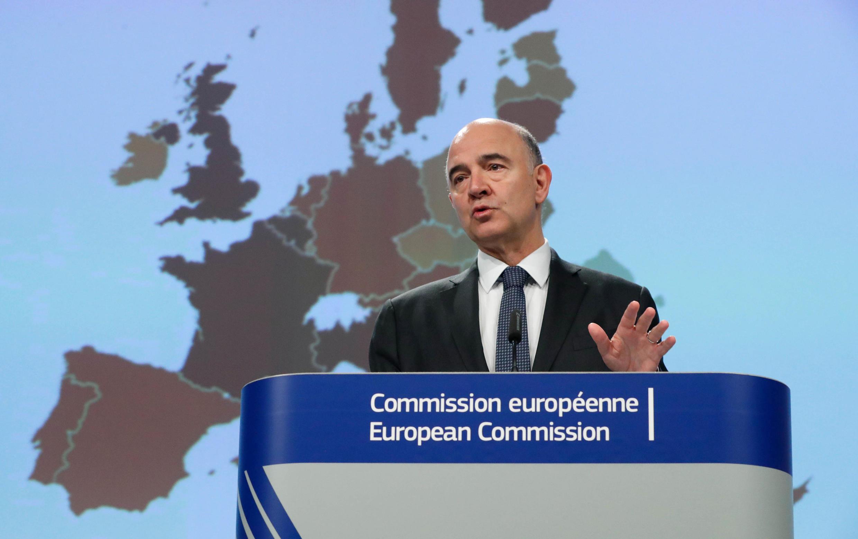 歐盟經濟專員莫斯科維奇2017年11月9日