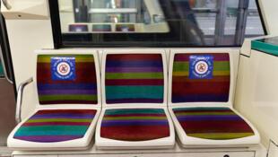 sieges metro paris