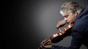Didier Lockwood in Paris, 31 May 2017
