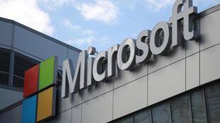 Microsoft à Los Angeles, en Californie.