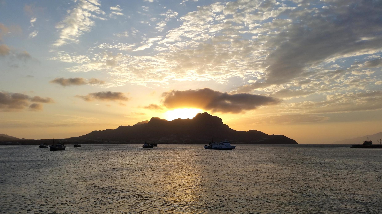 Ilha de São Vicente, em Cabo Verde. 1 de Fevereiro de 2015.