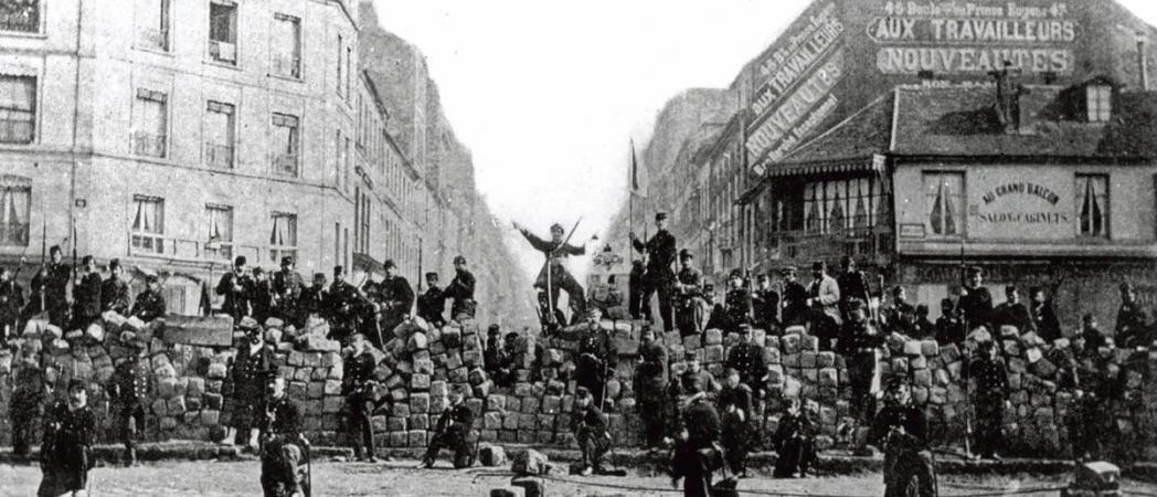 Commune de Paris Menilmontant Barricade 18 March 1871