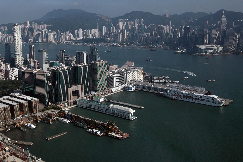 香港金融中心俯瞰