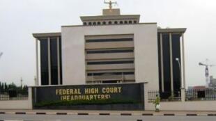 La Cour suprême du Nigeria à Abuja.