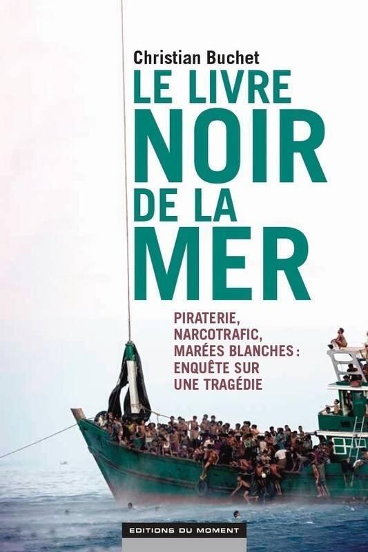 Couverture du Livre Noir de la Mer de Christian Buchet.