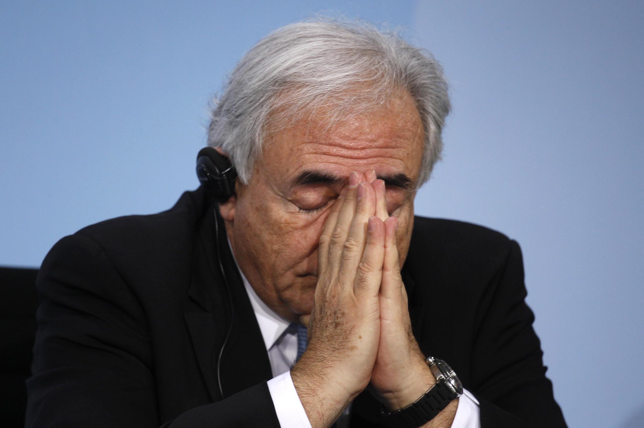Tổng giám đốc Quỹ Tiền tệ Quốc tế Dominique Strauss-Kahn