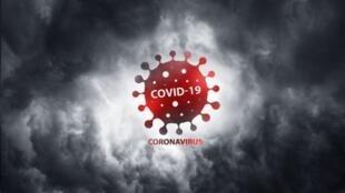 新冠病毒圖
